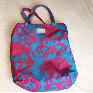 Lilly Pulitzer for Estee Lauder Tote Beach Bag